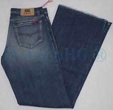 Stonewashed L32 Damen-Jeans im Schlaghosen-Stil