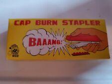 Alco Cap Burn Stapler Gag Vintage 1970's NIB