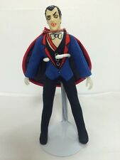 """1970's Original Mego 8"""" Type 1 DRACULA Complete Action Figure Mad Monsters!"""