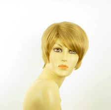 short wig for women golden blond elsa ref 24b PERUK
