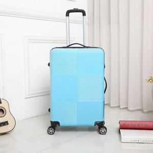 Carry On Luggage Suicase On Wheels Rolling Luggages Bag Travel Trolley Bags