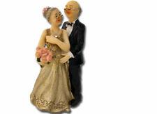 Figurenpaar zur Goldhochzeit 13cm Hochzeit Deko / Geschenk