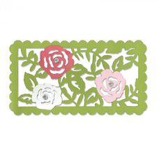 Sizzix Thinlits Plantilla Relieve Rose Vides de corte Die 660747