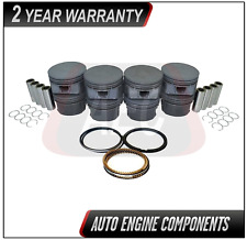 Piston & Piston Rings Fits Ford Expedition Mustang Explorer 4.6L 5.4L - SIZE 030