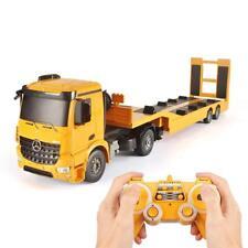 Heavy Duty Construction Remote Control Semi Truck Electric RC Toy Boy Trailer