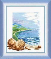 EMBROIDERY KIT COUNTED CROSS STITCH KIT CHARIVNA MIT SAESIDE SEA SHELL 209