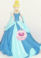 Disney Princess Bank Cinderella Coin Money Blue Ball Gown Dress New