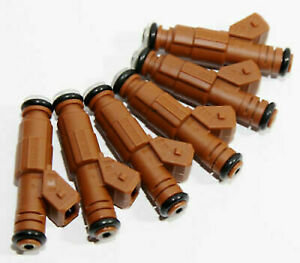 6x Fuel Injector 9186340 for VOLVO C70 S60 S70 S80 V70 XC70 XC90 1999-2009 FJ669