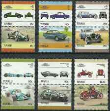 Timbres Voitures Tuvalu 404/15 ** lot 13316