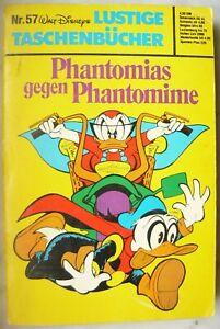 Walt Disney Lustiges Taschenbuch Ltb 57 Phantomias gegen Phantomime von 1978