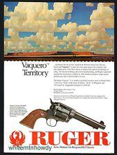 1994 RUGER Vaquero  Fixed-sight Revolver PRINT AD