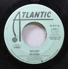 Rock Promo 45 Velveteen - Wild Rain / Wild Rain On Atlantic
