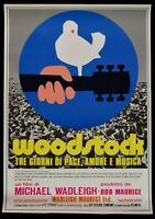 Manifesto Woodstock Beaz Coocker The Who Wadleigh Stels Nash County Rock P14