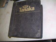 TANAKA DEALER PARTS MANUAL - VINTAGE LAWN AND GARDEN
