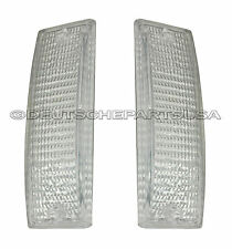 Clear Turn Signal Lens SET of 2 For: Porsche 911 930 LEFT + RIGHT 91163191500