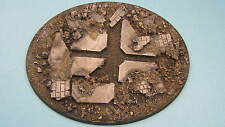 Base de resina pintada grandes ovalados escombros Hellbrute helldrake Stormraven 40k Flyer