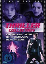 DVD NEU/OVP -  Thriller Collection - 3 Filme - Frequenz Mord, Dead Riners u.a.