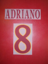 FLOCAGE OFFICIEL ADRIANO  AS ROMA AWAY 2010/2011