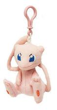 Pokemon 3'' Mew Plush Bag Clip Key Chain NEW