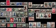 Déstockage : L'ANNÉE 1957 complète, Neufs ** = Cote 111 € / Lot Timbres France