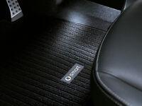 SMART Rips-Fußmatten 2er-Set  schwarz A451 Coupe und C451 Cabrio