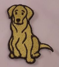 Embroidered Labrador Retriever Lab Puppy Dog Breed Patch Applique Iron On Sew On