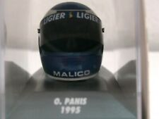 WOW EXTREMELY RARE Helmet Panis Arai Ligier Honda GP France 1995 1:8 Minichamps