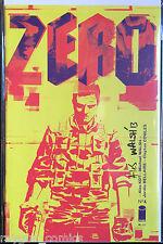 Zero #1 signé Ales Kot & Michael Walsh NM- 1st imprimé Image Comics