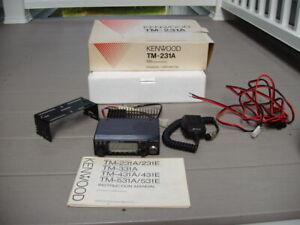 Kenwood TM-231A 144Hz FM transceiver