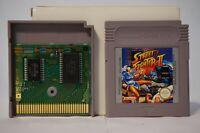 Street Fighter 2 II Game Boy gameboy Nintendo pak game boy gb japan PAL 1995 EUR