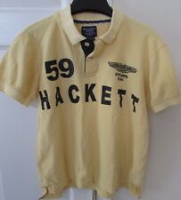 Aston Martin 59 Racing Golf Polo Shirt Youth Medium Yellow by Hackett London