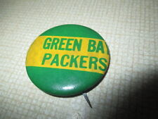 """60s GREEN BAY PACKERS 1.75"""" Button / Pin"""