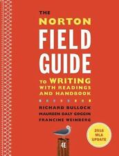 The Norton Field Guide to Writing with 2016 MLA Update: with Readings and Handbo