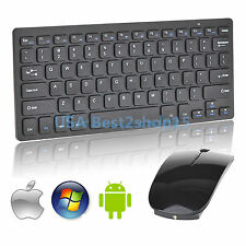 Mini 2.4G DPI Wireless Keyboard and Optical Mouse Combo for Tablet Latpot PC US
