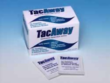 Skin-Tac-H Adhesive TacAway Remover Wipes, Skin Cleaner, 50 count