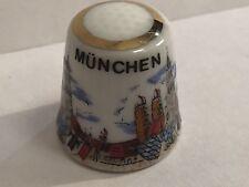 Munchen Porcelain Thimble