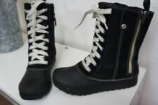 * the North Face * Womans Cuero/tela/botas de goma botas negro * 37 *