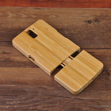 Natural Excellent Hard Bamboo Wooden Wood Case Cover For Oneplus One Plus Phone