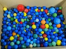 Vintage Marbles - Solid Colour - Mixed Sizes And Colours Conditions - g
