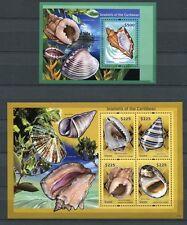 Guyana 2012 Muscheln Shells I Meerestiere Postfrisch MNH