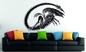 Alien AVP Predator Xenomorph Queen Decorative Vinyl Wall Sticker Decal XL
