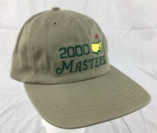 2000 MASTERS Golf Tournament Augusta National American Needle Vintage Hat NWT