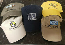 LIFE IS CRAP BASEBALL CAPS, MULTIPLE COLOURS AND STYLES FISHING BMX, OUT OF BEER