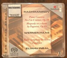 Rachmaninov: Piano Concerto No. 2; Rhapsody on a Theme by Paganini - SACD