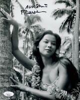 FRANCE NUYEN Signed SOUTH PACIFIC Liat 8x10 Autograph Photo JSA COA Cert