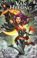 Van Helsing vs. the League Of Monsters No 1 (2020), Variant Cover Royle, NEW