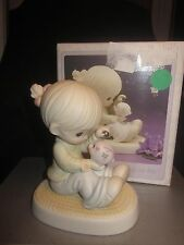 Enesco Precious Moments Collection You Can Always Count On Me Porcelain Figurine