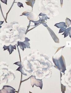 John Lewis & Partners Passaro Wallpaper, Pink Batch A
