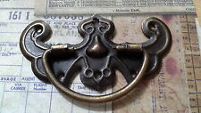 6 X ANTIQUE BRONZE TONE DOOR HANDLES- BOXES, SCRAPBOOKING,EMBELLISHMENT/CHARMS.