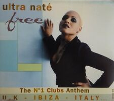 ULTRA NATE : FREE ( MOOD II SWING HOUSE DUB ) - [ CD MAXI ]